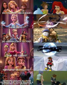 Haha sora is the best disney princess