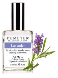 what fragrance men like on women   Lavender Demeter Fragrance perfume - a fragrance for women and men