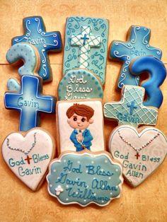 Baptism Platter | Cookie Connection