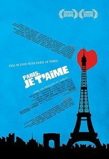 "Paris, je t'aime - 2006.  Means ""Paris, I love you.""  Won Film of the Year according to Conde Nast mag.  18 directors' takes on Paris.  See panoramas of Paris"