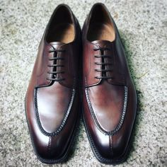 Unmistakable Dark Chestnut Edward Green Dover. English Shoe Maker To The Few