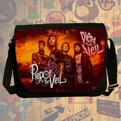 "NEW Custom : Pierce The Veil 14"" Messenger School Laptop Bag By Gift Ideas #08"