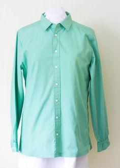 182a924cdf3 Women s Green Adaptive Shirt in Adaptive Clothing Womens Women s Shirts