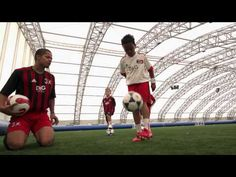 AC Milan Soccer Schools - Lesson 1 - kick Ups U7 Soccer Drills, Football Drills, Soccer Skills, Camping Uk, Skills To Learn, Ac Milan, School Lessons, Schools, Coaching