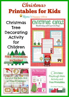 "8 Montessori inspired Christmas activities for toddlers and preschoolers to enjoy. This is also part of the ""15 Days of Montessori for the Holidays"" series!"