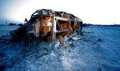 """The Airstream"" Bombay Beach, Salton Sea, CA by Jerry Rodgers, via Flickr"