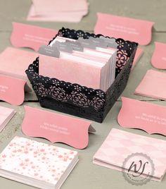 Karteikarten-Gästebuch : weddingstyle-Hochzeitsblog