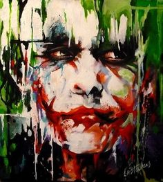 Joker POP art.