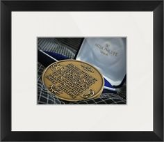 """Patek Philippe Medallion (Framed) $80 - 16.5"""" x 18.5"""" printed on enhanced matte paper & regular   glass glazing / Moulding: black,arqadia black angled; Top Mat: white/cream,porcelain / Ultra-high quality photo with 15.9 million pixels (15,925,248 pixels; 300 dpi; 4608 x 3456) / Methodically examined photo is 100% original and can never be found anywhere on the web. http://www.imagekind.com/Patek-Philippe-Geneve-PPG_art?IMID=bae1610e-bc86-4d74-b114-9f3600a883e3"""