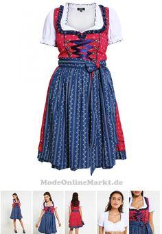 04250748422909   #Wiesnkönig #IDA #SET #Dirndl #dark #blue #für #Damen