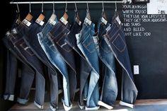 jeans window display - Google Search