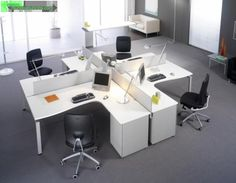 Office Interior Design Ideas is totally important for your home. Whether you pick the Office Design Corporate Workspaces or Corporate Office Design Workspaces, you will create the best Business Office Decorating Ideas for your own life. Open Space Office, Office Space Design, Workspace Design, Corporate Interior Design, Corporate Interiors, Office Interiors, Office Seating, Office Setup, Office Workspace