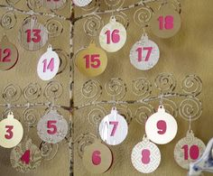 Make your own advent calendar and replace the candy with fun holiday themed activities