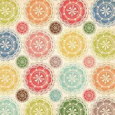 papel scrapbooking vintage floral - Buscar con Google