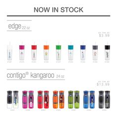 NOW IN STOCK! Two new items are now in stock! Edge - http://www.etsexpress.com/products.php?id=edge Contigo® Kangaroo - http://www.etsexpress.com/products.php?id=kangaroo