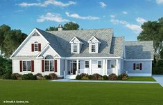 The Sunspring House Plan (2137 sq ft; 3beds; 2.5baths; utility and 1/2 bath off of garage)