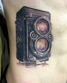 Post with 16 votes and 943 views. TLR Camera Tattoo by Zaed Tattoo, Bucharest Cool Tattoos, Tatoos, Camera Tattoos, Bucharest, Bullshit, Tatting, Body Art, Coolest Tattoo, Bobbin Lace