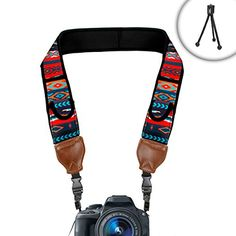 Digital Camera Shoulder Holster Strap with Accessory Storage Pockets by USA Gear - Works With Nikon D7200 , D5500 , Coolpix P900 and More Accessory Power http://www.amazon.com/dp/B013KFJFDE/ref=cm_sw_r_pi_dp_FVK8vb1ZKW259