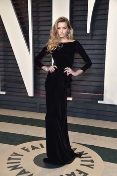 Oscars 2017: Vogue's Vanity Fair party best dressed : Abbey Lee