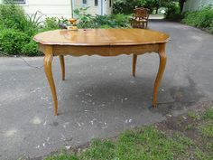 Heir and Space: A Vintage Cherry Dining Set