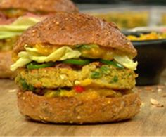 Chad Sarno's Samosa Burgers : The Humane Society of the United States