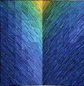 BLUE HILLS by Ann Brauer -- link goes to index page of her larger art quilts for sale on her web site.