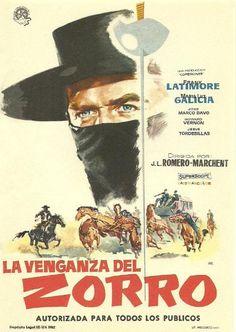 1962 - La venganza del Zorro