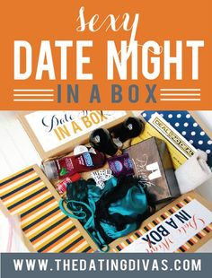 Sexy Date- in a box. {For our anniversary or maybe Valentine's Day.}
