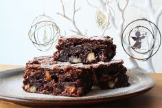 """Brownies i julestemning"" via @Madsymfonien's blog"
