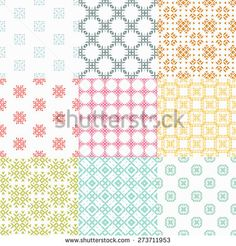 Stock Images similar to ID 204880735 - floral decor set. 100 different ...