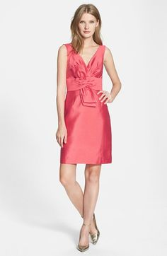 kate spade new york 'mina' silk blend sheath dress   Nordstrom #MillionDollarShoppersAndrea @Doris Mcclanahan-Conway TV