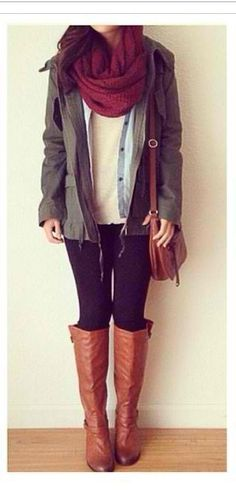 Inspired winter outfit