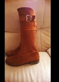Kup mój przedmiot na #vintedpl http://www.vinted.pl/damskie-obuwie/botki/10637769-rude-kozaczkibotki-jesien15