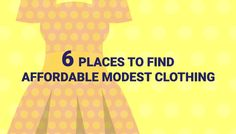 Affordable modest clothing can be challenging to find. We've put together a list…