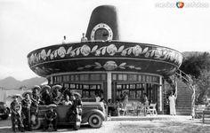 RestauranteElCharro. Santiago, NuevoLeón (c. 1945).