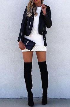 white and black style idea