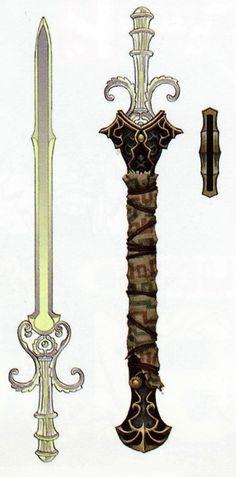 The Legend of Zelda: Twilight Princess. Link and Ganondorf's Sword.