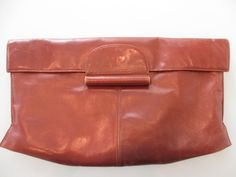 Vintage 1940s Leather Clutch by MemphisNanney on Etsy