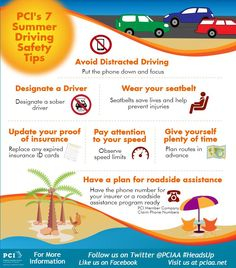 7 Summer Safety Driving Tips