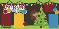 Decorating the Tree-Boy Page Kit Christmas Scrapbook Layouts, Birthday Scrapbook, Scrapbooking Layouts, Christmas Layout, Christmas Books, Winter Christmas, Xmas, Scrapbook Sketches, Scrapbook Pages