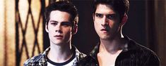 You're breaking my heart with the crying Stiles. Scott and Stiles - Teen Wolf *gif*