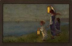 A Polar Bear's Tale: Lantern postcards by Sybil Barham (1877 -1950)