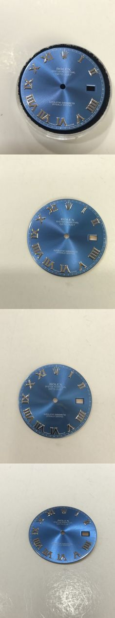 Bezels and Inserts 57714: Original Rolex Datejust Ii Dial Blue Roman For 41Mm -> BUY IT NOW ONLY: $395 on eBay!