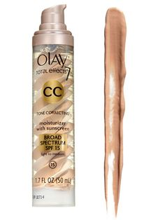 The best CC creams - Olay Total Effects Tone Correcting CC Cream SPF 15, $21.50;  Read more: Clinique CC Cream - The Best CC Creams - Redbook  Follow us: @REDBOOK Magazine on Twitter | REDBOOK on Facebook  Visit us at Redbook.com