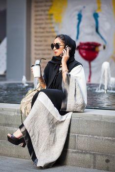 Style up your Hijab and Abaya ! #fashion #trends #abaya #hijab