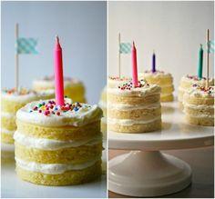 Mini Cakes super cute :) mr-and-mrs-delicious-s-menu