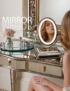 More radiant… a slimmer profile… dressed in classic finishes:  The Oversized Vanity Mirror is perfect for the natural beauty in your life.