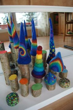 """Beautiful additions to the fairy world - from Fantasifantasten ("""",)"""