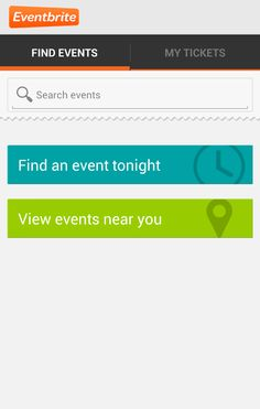 Android eventbrite