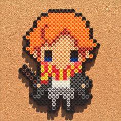 Ron - Harry Potter perler beads by Tsubasa Yamashita                                                                                                                                                     More